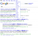 Full changed Google page