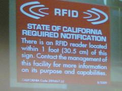 Caution - RFID!