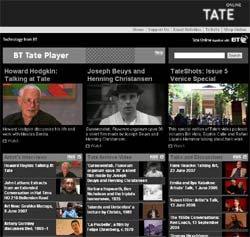 BT Tate Player